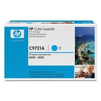 Toner HP C9721A cyan