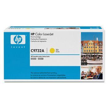 Toner HP C9732A Gul