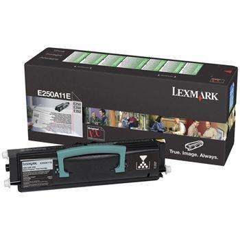 Toner Lexmark Sort E250A11E