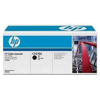 Toner HP CE270A Sort