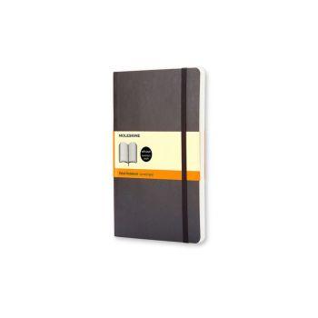 Notatbok - Moleskine Softcover 13 x 21 cm - Linjert sort