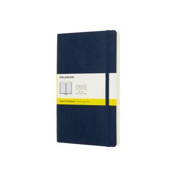 Notatbok - Moleskine 13 x 21 cm - Linjert blå