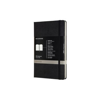 Notatbok - Moleskine Pro Hardcover 13 x 21 cm - Sort
