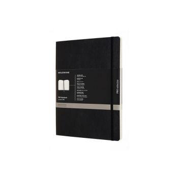 Notatbok - Moleskine Pro 19 x 25 cm - Sort