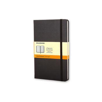 Notatbok - Moleskine 9 x 14 cm - Linjert sort