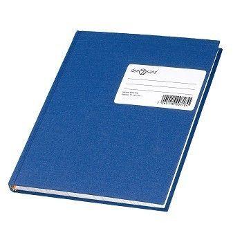 Protokoll 1/4 48 blad, linjer, Blå