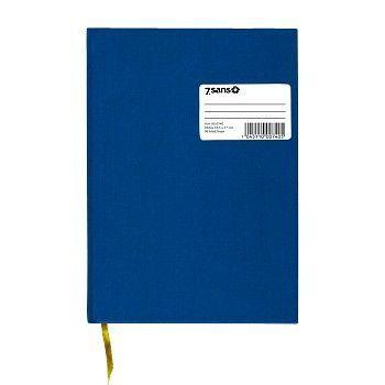 Protokoll A4 96 blad, ulinjert, Blå