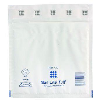 Plastkonvolutt 180x160mm, Mail Tuff Aircap
