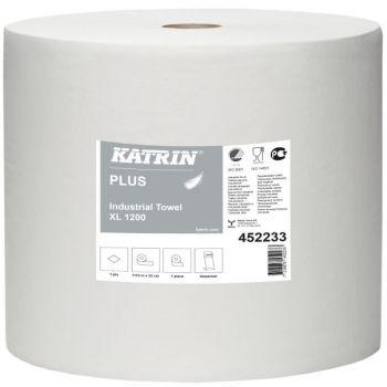 Tørkepapir, rull Katrin Plus XL, 1110meter 1-lag
