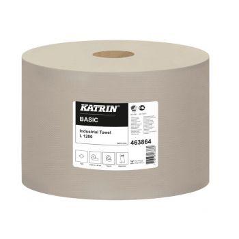 Tørkepapir, rull Katrin Basic L, 1230meter 1-lag
