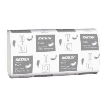 Tørkepapir Katrin Plus C-Fold 2 EasyFlush 24x33cm 2-lag