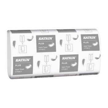 Tørkepapir Katrin Plus C-Fold 2 24x33cm 2-lag
