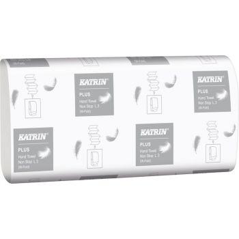 Tørkepapir Katrin Plus Non Stop L3 Handy Pack low pallet 20,3x34cm 3-lag