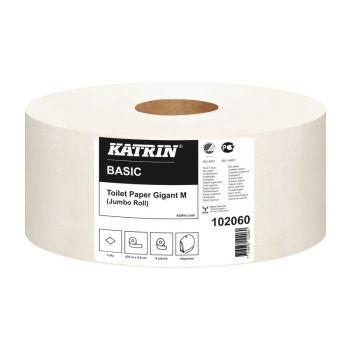 Toalettpapir Katrin Basic Gigant M, 435meter 1-lag