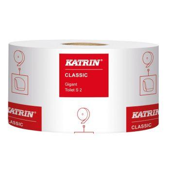 Toalettpapir Katrin Classic Gigant S2, 200meter 2-lag