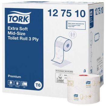 Toalettpapir 3-Lag Hvit Premium Tork T6