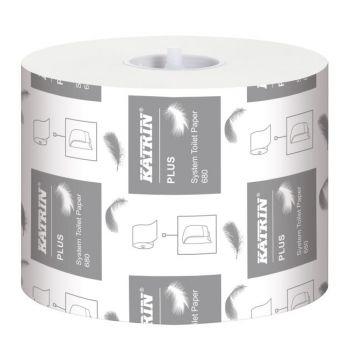 Toalettpapir Katrin Plus 85meter 2-lag