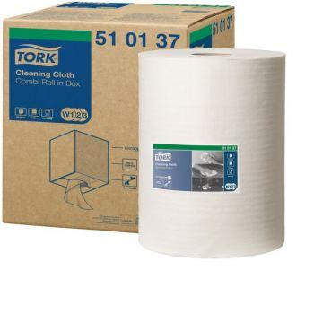 Klut rengjøring, rull Tork Premium myk W1,W2 og W3 32cm x 152 meter 1-lag
