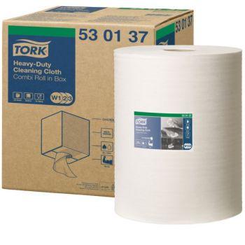 Klut rengjøring,Tork Premium Combibox sterk W1,W2 og W3 32cm x x 106,4 meter 1-lag