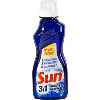Oppvaskmiddel Sun 3-i-1 glans og tørkemiddel, 350ml