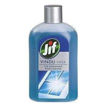 Rengjøring Jif vindusvask