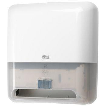 Dispenser Tørkepapir Tork Matic Intuition Sensor H1, hvit