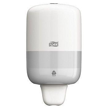 Dispenser såpe, Tork mini S2, hvit