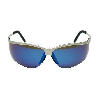 Vernebrille Metaliks Sport med brillestenger i metall (Blå speilrefleks)