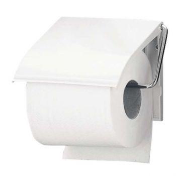 Toalettrullholder Brabantia, for Vegg, Hvit Metall