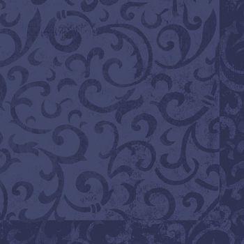 Serviett - Duni Sarala Dunilin - blå 40cm x 40cm (50 stk)