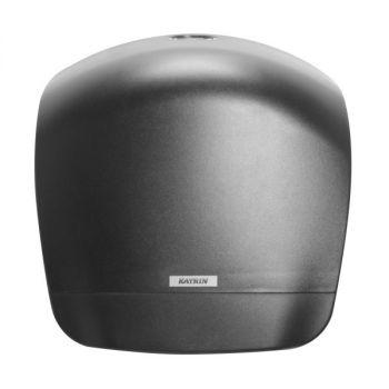 Dispenser Katrin Inclusive Gigant L for toalettpapir, Sort