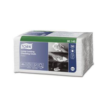 Rengjøringsklut - Tork Premium W8 allbruksklut - hvit (50 stk)