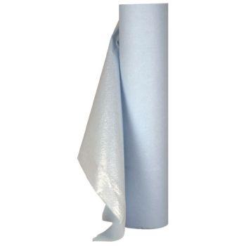 Legebenkpapir - perforert belagt med PE -  0,5x65m (171 ark)