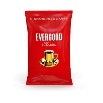 Kaffe Evergood, Grovmalt, 300g