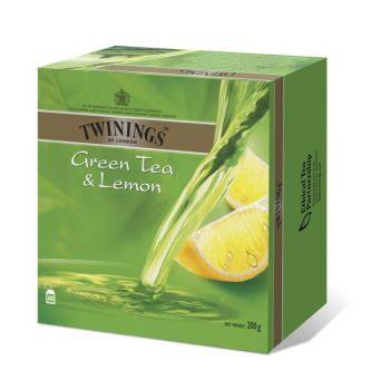 Te Twinings Grønn med sitron