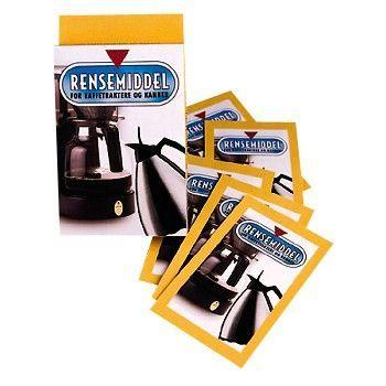 Rensemiddel for kaffetrakter