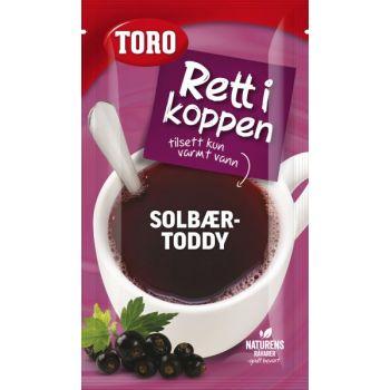 Solbærtoddy Toro, rett i koppen