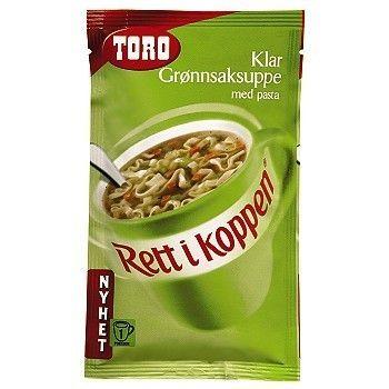 Grønnsakssuppe med Pasta RIK Toro 15 poser