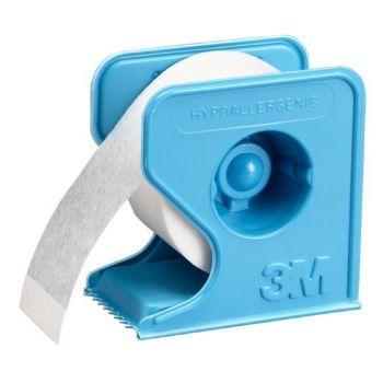 Bandasjetape med dispenser - 2,5 cm x 9,1 m - hvit