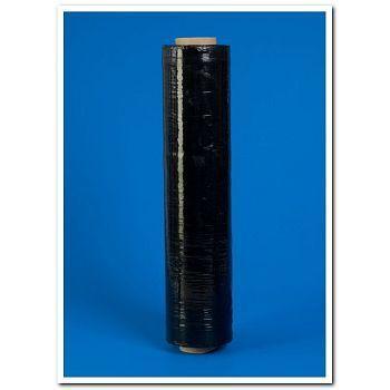 Strekkfilm 45cm x 300m, 20my sort plast (6 rl)