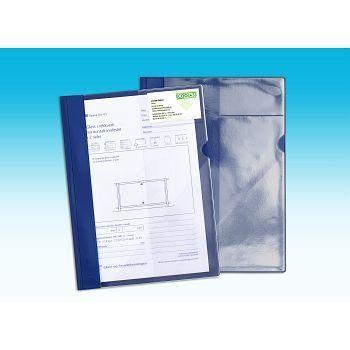 Tilbudsmappe A4 Plast, Blå (35 stk)