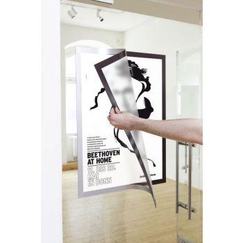 Ramme Duraframe Poster A2, Sølv