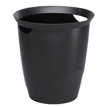 Avfallskurv Trend 16 Liter, sort
