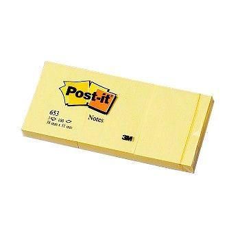 Post-It Notatblokk selvklebende 38x51mm Post-it, Gul (12 bl)