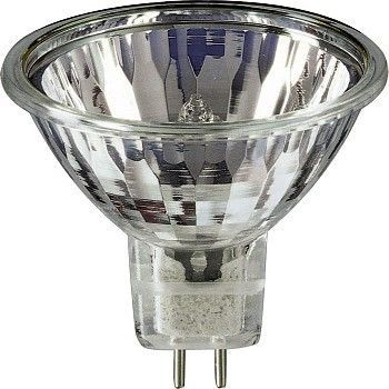 Lyspære Halogen, Spot 50W - 12V GU5,3  - 51mm EXN Flood Titan, Aura Light