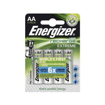 Batteri Oppladbart Energizer Extreme AA Eco 2300 Mah