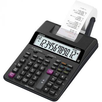 Kalkulator Casio skrivende HR-150RCE batteridrift inkl 4xAA batterier