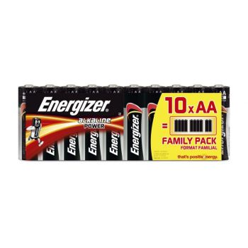 Batteri 1,5V Energizer Power AA LR6 (10 stk)