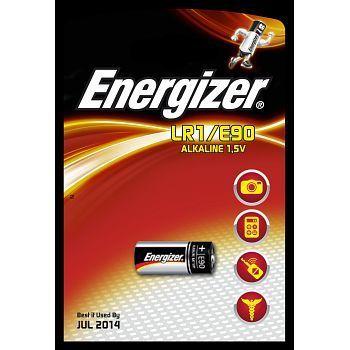 Batteri 1,5V Energizer E90 LR1. Pakke á 1stk