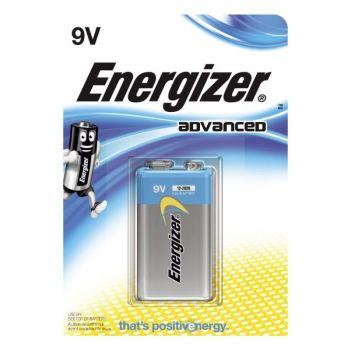 Batteri 9V Energizer Advanced 6LR61